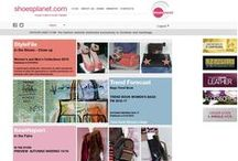 Shoes Planet / Welcome to the world of Shoes from the Planet! This website is specially designed as a practical hands-on tool for fashion companies, designers, retailers and other professionals in the footwear, handbag and leather goods industry.  From its office in Italy, Shoes from the Planet is managed by an expert team of designers and fashion journalists that have years of experience in the field of accessories.