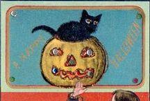 Cat Helloween cards