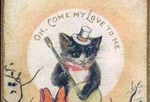 Cat Love cards