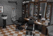 Vintage Barbershop Germany / Herrenfriseur in Pivitsheide/NRW