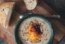 CRAVINGS | soups / by Lori A. Seals