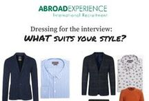 Men - Interview Outfits / Be different from the rest.