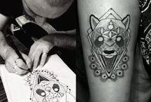 Drawing, Tattooing, Dotwork, Linework / Cem ARSLAN (@cem_amca) Tattoing in Izmir / Turkey Atalay Gölge Tattoo Studio
