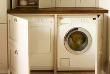 HOME | laundry space / by Lori A. Seals