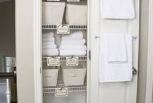 Home Organization / Tips and tricks to organize your home.