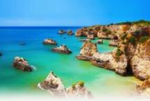 Algarve / You can go to a different beach every day on your Algarve villa holiday as there are more than 21 beaches in the Albufeira area to choose from. With the fine sand and beautiful turquoise sea, a holiday villa rental from Solmar is sure to please the sun worshippers in your group. All of the beaches are safe, and most of them have tourist or sports facilities.