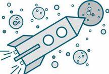 Pokusy a hračky: vesmír