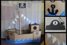 Realizované výtvory ve hře Ostrovy objevů aneb Piráti na stráži