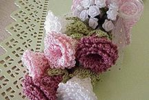 Crochet flowers / by Veronica Smith