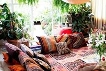 Ethnic Interiors / Contemporary interiors with an ethnic influence.