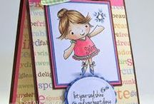 Faithful Friends Cards / Send a hug and a smile with a handmade card using From the Heart Stamps' Faithful Friends illustrations.