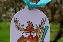 Handmade Tags and Gift Packaging / Handmade tags and gifts using From the Heart Stamps.