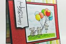 Birthday Cards - Handmade / Birthday Cards using From the Heart Stamps.