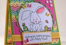 Easter Cards and Papercraft Ideas / Handmade Easter card ideas using From the Heart Stamps.