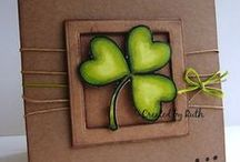 Kraft Paper Cards / Getting crafty with Kraft paper and From the Heart Stamps.