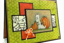Fall, Harvest, and Halloween Cards / Fall cards with From the Heart Stamps