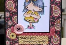 Thank You Cards / Thank you cards with From the Heart Stamps