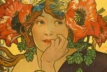 Art Nouveau d'Alphonse Maria / by Lucy Newberry