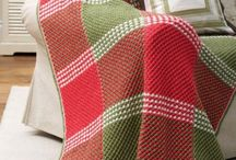 Knitted blankets & throws