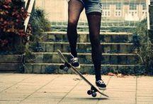 longboard/skate ♡