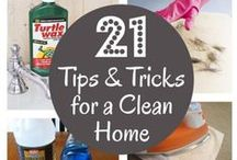 Cleaning Tips / Tips for cleaning just about anywhere and anything in your home!