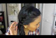 Neat hairstyles / Easy hairstyles that are super quick and easy