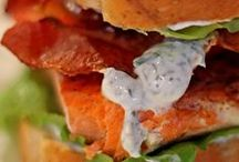 Sandwiches & Wraps / A tasty recipe collection of sandwiches and wraps.