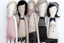 Bonecas de pano / Bonecos