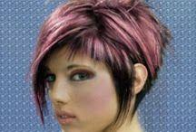Frisuren,Haarfarben