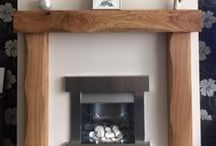 Happy Customers Oak Beam Photos / Customers that are so happy they have sent us pictures of their new oak beam mantles/ fireplaces. You can orders yours too at: http://www.celtictimber.co.uk/oak-beam-fireplaces,-shelves-and-mantles/