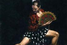 Te amo Espanhola / Flamenco, gitano e afins