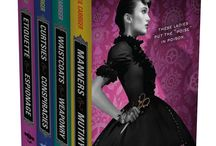 FINISHING SCHOOL Series (Parasolverse) / Etiquette & Espionage, Curtsies & Conspiracies, Waistcoats & Weaponry, Manners & Mutiny by Gail Carriger