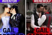 SUPERNATURAL SOCIETY Series (Parasolverse) / LBGTQ steampunk stories set in Gail Carriger's Parasolverse featuring popular side characters, includes Romancing the Inventor, Romancing the Werewolf.