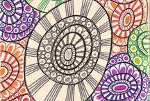 Zen Tangles & doodles