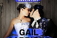 ROMANCING THE INVENTOR (Parasolverse) / Supernatural Society Novella. Inspiration connected to Gail Carriger's lesbian steampunk novella Romancing the Inventor.