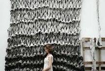 textiles and fiber arts / fiber arts inspiration