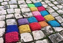 yarnbombing / amazing public knit and crochet art