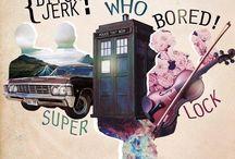 SuperWhoLock / Supernatural Doctor Who Sherlock THE THREE BIG ONES GREATEST FANDOMS OF ALL
