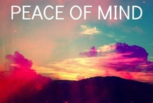 "~~Peace of Mind~~ / ""If you're lonely or unhappy go outside, somewhere where you can be in peace with nature and God"""