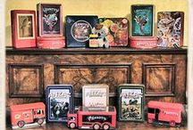 Antiques/Vintage ~ on my shelves.
