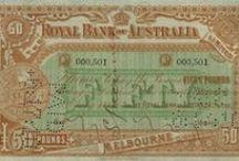 Money - Australia 1800s