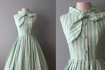 Vintage dresses and gowns
