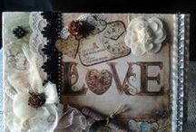 Love Sabby Chic & Altered Art / by Arlette Ventura - Lace & Pearls