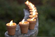 Svíčičky ♥ světýlka