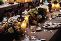 E V E N T S / Decorations, lighting and table settings