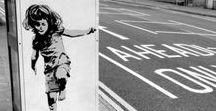 "Bansky / ""graffiti is disgusting"""
