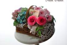 Miniature Flowers by Petit*Fleur