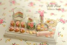 Miniature sweets by Petit*Fleur / These are the miniature sweets I make