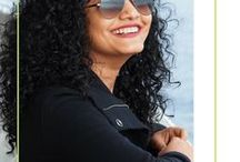 Curly Hair / Curly Hair Tips and Inspiration