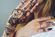 Henna. / Henna tattoo